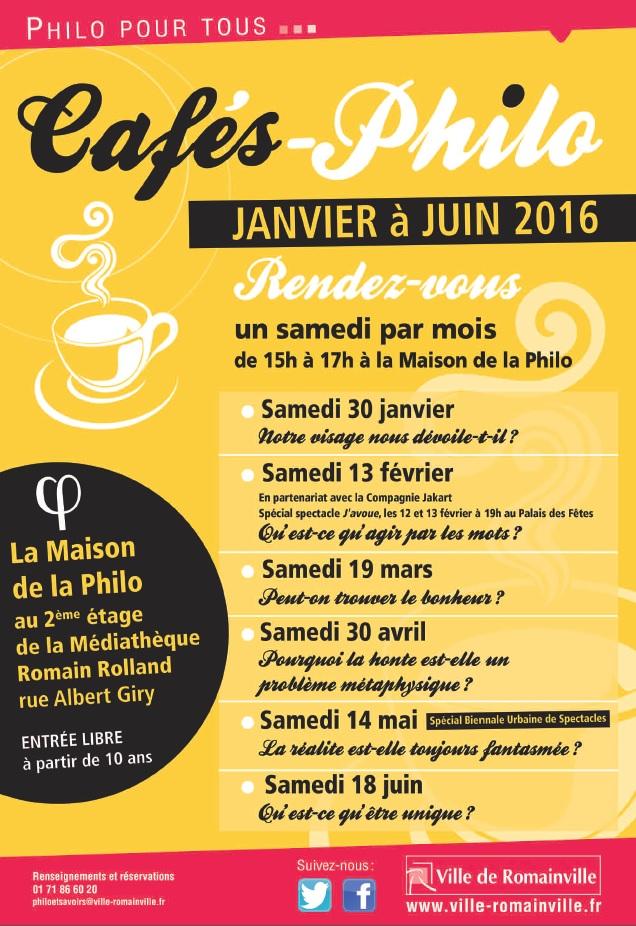 cafés philo janvier juin 2016