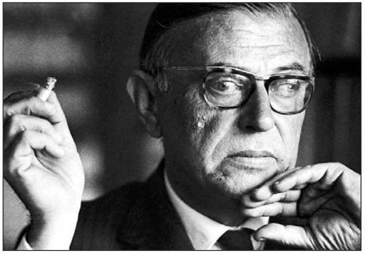 sartre-existence