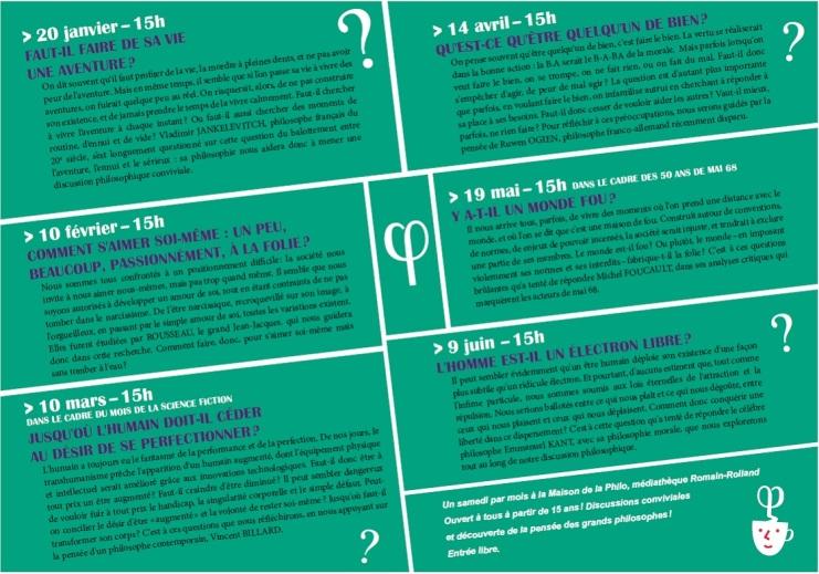 Programme Café-Philo Janvier - Juin 2018 page 2