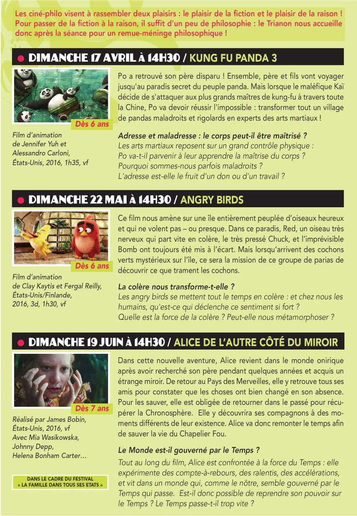 Programme Ciné-Philo Avril - Juin 2016 page 2