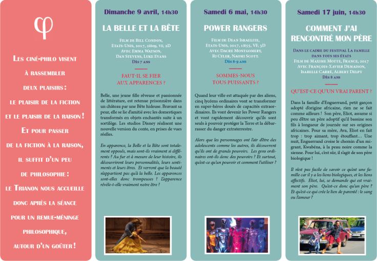 Programme Ciné-Philo Avril - Juin 2017 page 2
