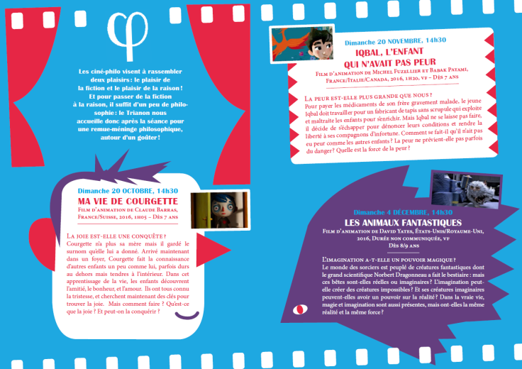 Programme Ciné-Philo Octobre - Décembre 2016 page 2