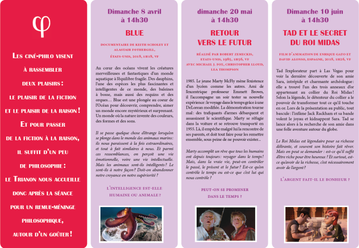 Programme Ciné-Philo Avril - Juin 2018 page 2