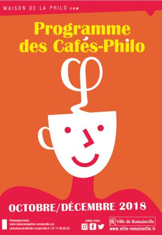 Programme Café-Philo Octobre - Décembre 2018 page 1